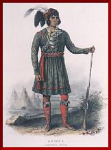 Osceola, Seminole, by Catlin